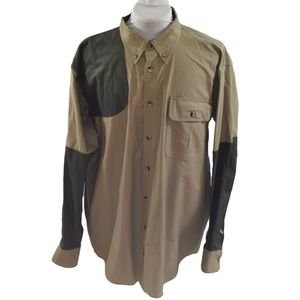 Cabelas Mens Size XL Shooting Shirt Right Handed